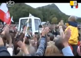 Voyage du Pape Benoit XVI à Lourdes